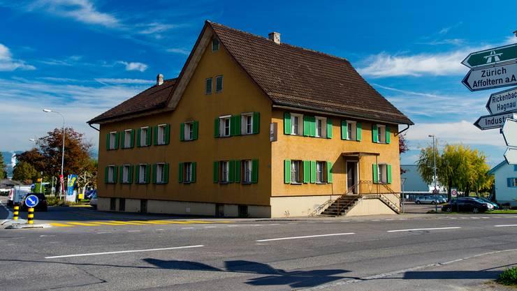 Das ehemalige Restaurant Hirschen in Merenschwand wird zeitlich befristet zur Unterkunft für 25 Asylbewerber. Emanuel Freudiger/archiv