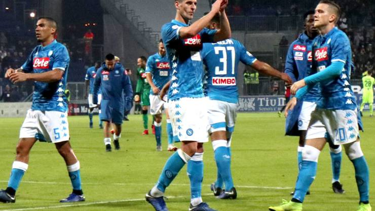 Arkadiusz Milik rettete Napoli den Sieg in Cagliari