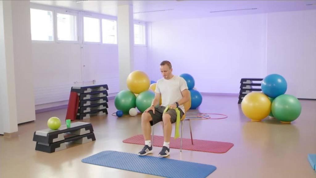 «Gymnastik in Wohnzimmer» vom 27. September 2021