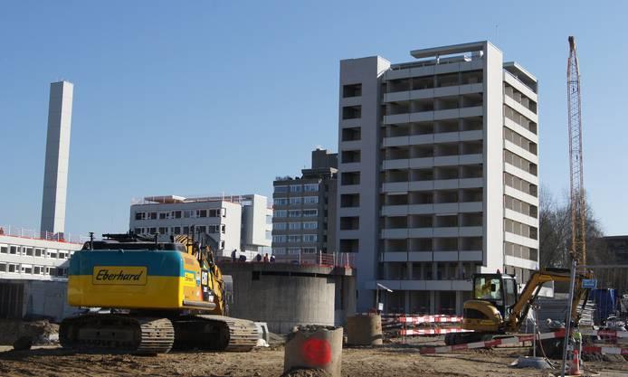 Das Theodosianum-Gebäude wird abgerissen.