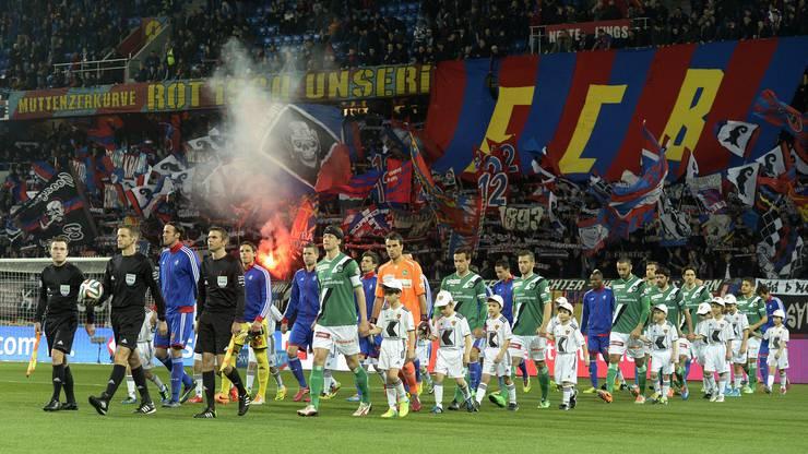 Der FC Basel spielt gegen St. Gallen