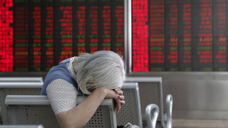 Am Montag präsentierte das chinesische Statistikamt die jüngsten Konjunkturzahlen. (Symbolbild)