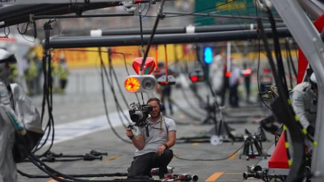 Wer erhält die Formel-1-Bilder? Ein Bieterwettbewerb bahnt sich an. Foto: Getty Images
