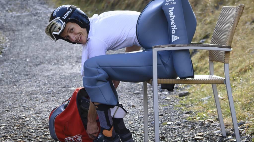 Bereit für die nächsten Weltcup-Springen: der Luzerner Gregor Deschwanden