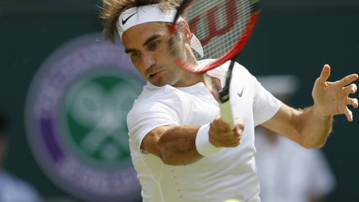 Roger Federer erreichte mit viel Schwung die 3. Runde