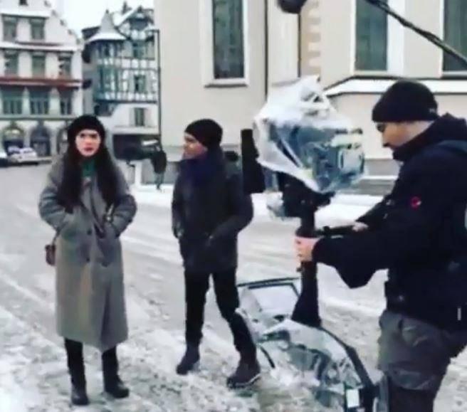Dreharbeiten von «Meet me in St.Gallen»