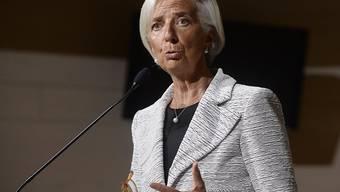 """IWF-Chefin Christine Lagarde: """"Einschränkungen beim Handel und das Herunterfahren wirtschaftlicher Offenheit wird mit Sicherheit die Wachstumsaussichten in aller Welt und vor allem bei den Schwächsten senken."""" (Archiv)"""