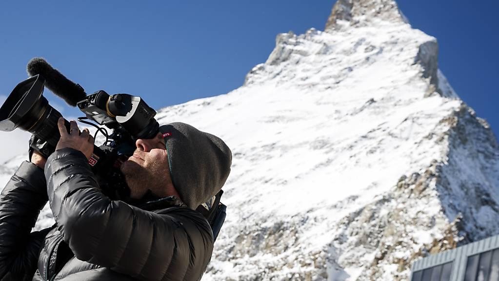 Die TV-Kameras werden bei Weltcup-Rennen schon bald Bilder der Matterhorns ausstrahlen.