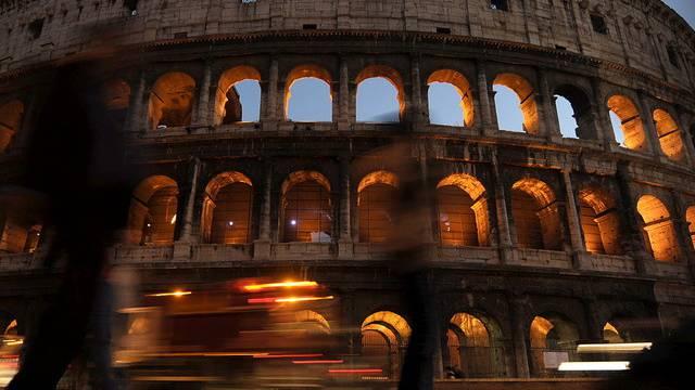 Hier ist vom Picknick abzuraten: Kolosseum in Rom. (Archiv)