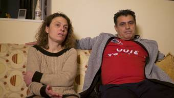 Szene aus dem Film «Ohne Grund» von Franziska Häny. Das Paar erzählt von seinem Leben in der Arbeitslosigkeit.