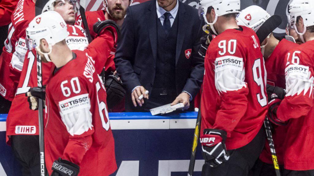 Die Schweizer haben sich nach zwei Niederlagen für das letzte Gruppenspiel gegen Tschechien viel vorgenommen