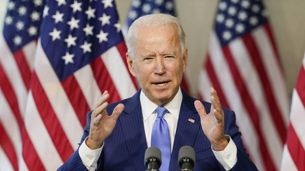 Biden will Aufbruchstimmung verbreiten: «Amerika wieder in Bewegung»