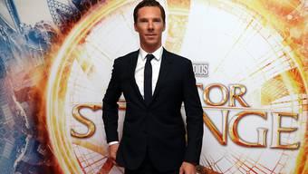 Schauspieler Benedict Cumberbatch demonstriert seine Deutschkenntnisse. (Archivbild)