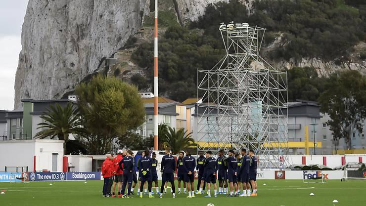 Die Schweizer bereiten sich auf das Pflichtspiel gegen Gibraltar vor