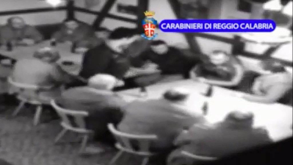 'Ndrangheta fasst Fuss in der Schweiz