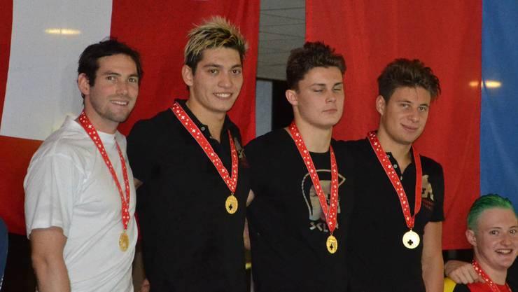 Die Schwimmerinnen und Schwimmer des Schwimmleistungszentrums (SLN) holten bei dieser Meisterschaft insgesamt 12 Medaillen.