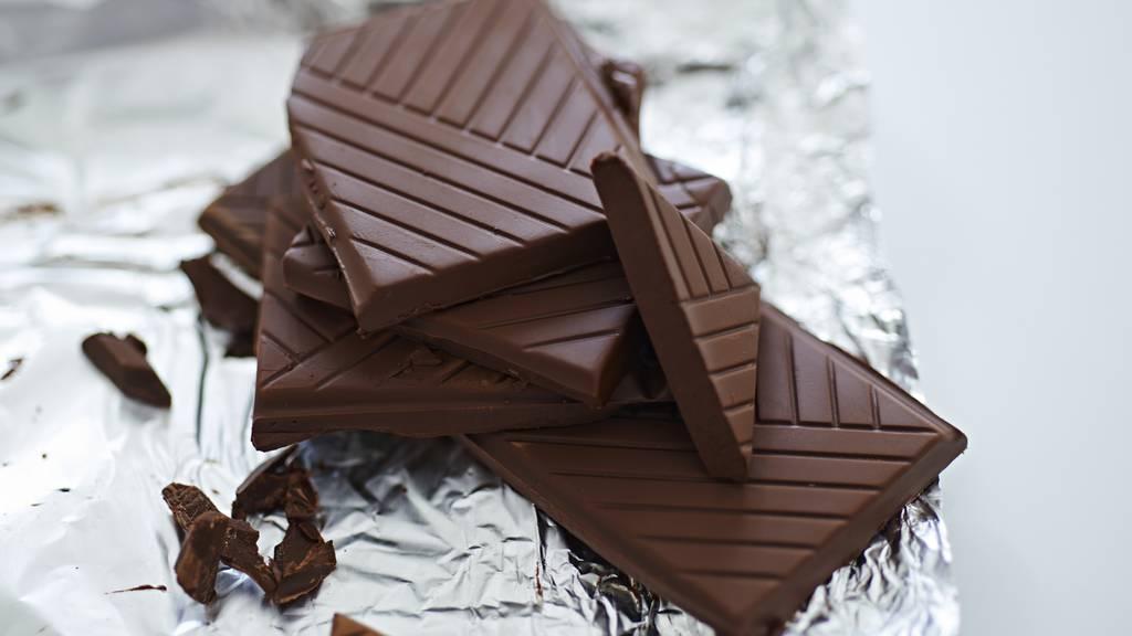 Dunkle Schokolade