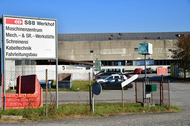Regionales Bahntechnikcenter Mitte in Dulliken