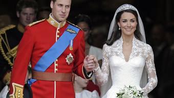Prinz William und Herzogin Kate bei ihrer Hochzeit 2011: Er hätte sie gerne seiner Mutter, Lady Diana, vorgestellt.