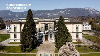 Ab kommenden Dienstag ist das Kunstmuseum Solothurn via 3-D-Animation zu besichtigen.