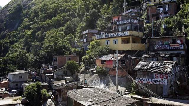 Favela in Rio de Janeiro (Symbolbild)