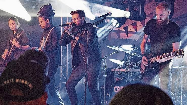 Am Stadtfest Brugg 2019 rockten Creeon die Eisi-Bühne und begeisterten die Metal-Fans.