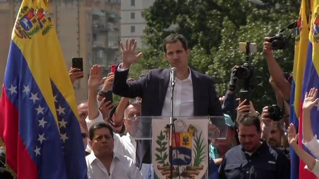 Kräftemessen in Venezuela