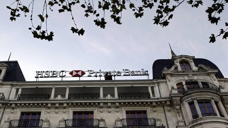 In den Negativ-Schlagzeilen: Der Schweizer Ableger der britischen Bank HSBC.