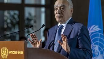 Nach den Worten des Uno- Sonderbeauftragten für Libyen, Ghassan Salamé, gab es Fortschritte bei den viertägigen Gesprächen über einen dauerhaften Waffenstillstand in Libyen.