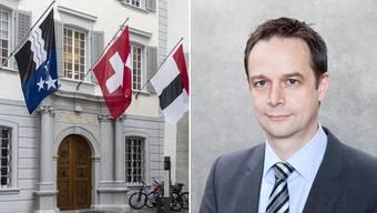 Stadthaus Baden: Für den Stadtrat kommt die Kündigung von Verwaltungsleiter Patrick Schärer in einem ungünstigen Moment.
