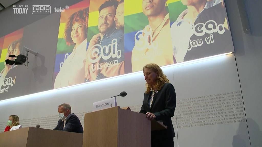 Ja-Komitee zur «Ehe für alle» argumentiert mit Chancengleichheit