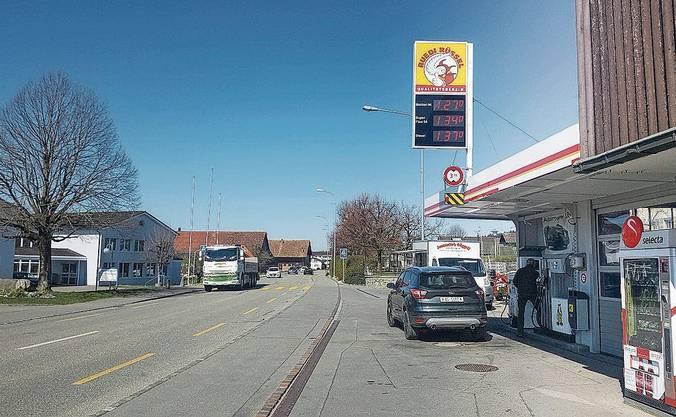 Zetzwil (im Bild) und Reinach sind im Wynental mit 1.27 Fr. am günstigsten.
