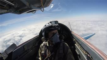 André Schärrers Flug mit einer russischen MiG-29
