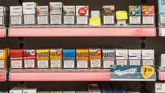 Zigaretten: Bei Valora ab 18 Jahren.