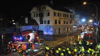 Brand im «Schützen» fordert sieben Verletzte