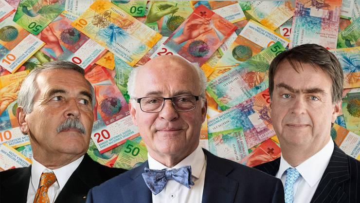 Die Reichsten aus den beiden Basel