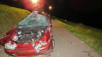 Unfall in Birrwil (10. August 2019)