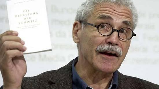 Oswald Sigg referiert in Dietikon zum bedingungslosen Grundeinkommen.