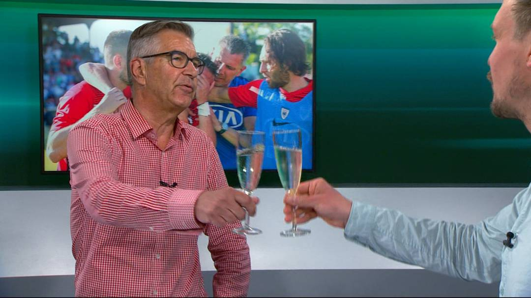 Der FC Aarau Talk zum Saisonabschluss