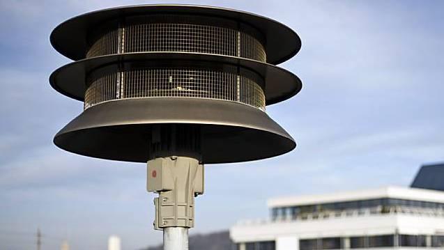 Am frühen Nachmittag des 3. Februar ist in der ganzen Schweiz Sirenentest angesagt.