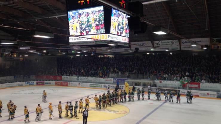 EHC Olten gewinnt erstes Spiel im umgebauten Kleinholz