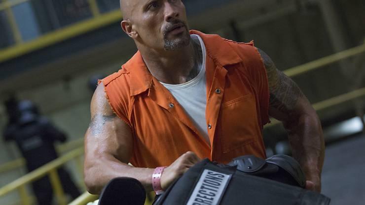 """Dwayne Johnson spielte unter anderem in """"Fast & Furious 8"""" und """"Baywatch"""" mit. (Archivbild)"""