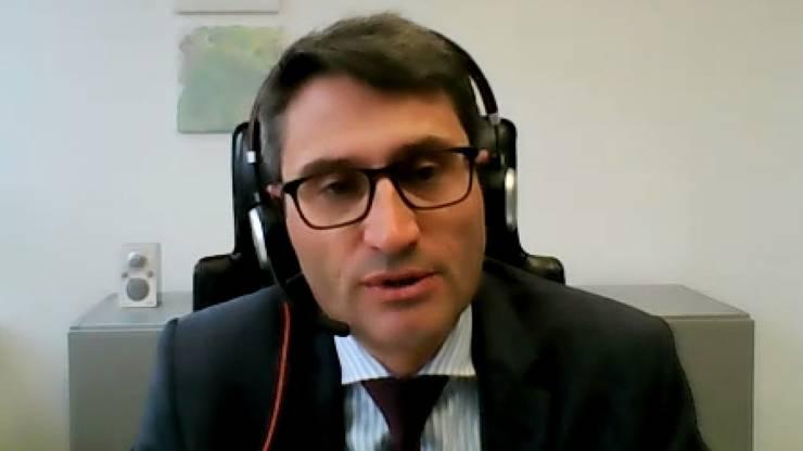 Lukas Engelberger, Gesundheitsdirektor (CVP)