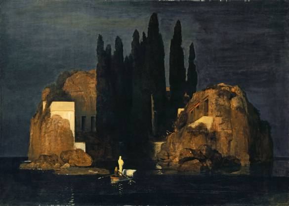 Arnold Böcklin «Toteninsel»