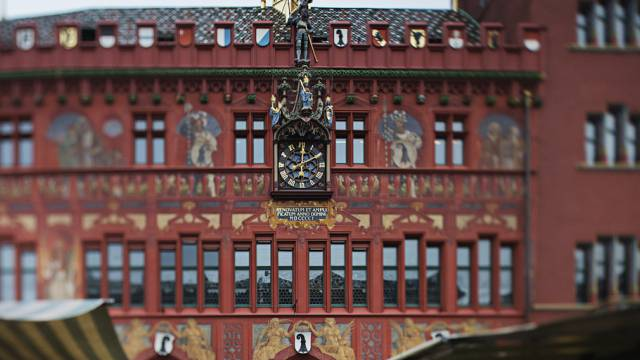 Rathaus in Basel (Archiv)