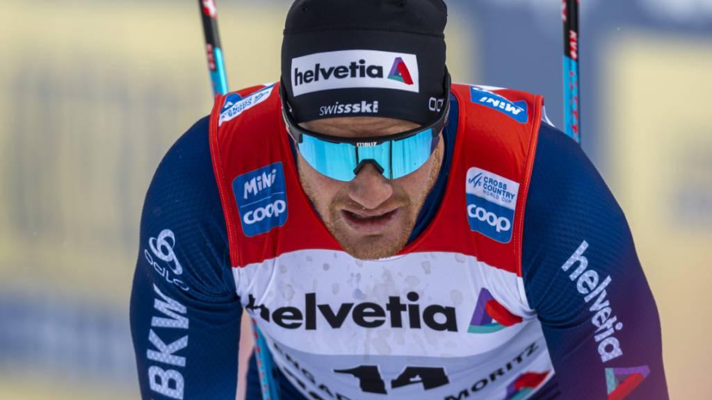 Dario Cologna will im nächsten Winter um olympische Medaillen kämpfen