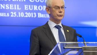 Van Rompuy schockiert über Flüchtlingstragödien