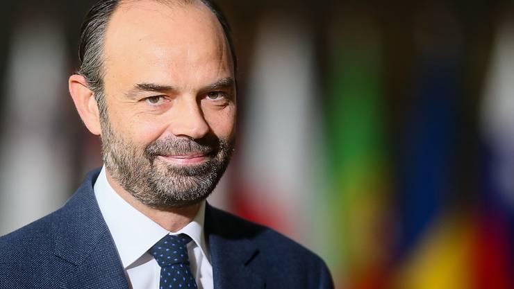 Ministerpräsident Edouard Phillippe leitet zunächst auch das Innenministerium, dem die Polizei unterstellt ist. (Archivbild)