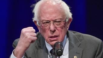 Bernie Sanders will US-Präsident werden.