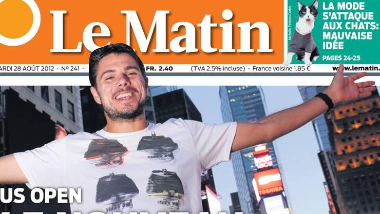 Die Westschweizer Boulevard-Zeitung «Le Matin».